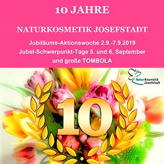 10 Jahre Naturkosmetik Josefstadt