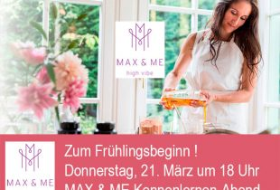MAX & ME Kennenlernabend