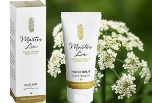 Master Lin Hand Balm in Aktion