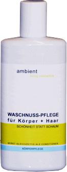Ambient Waschnuss-Pflege für Körper und Haar