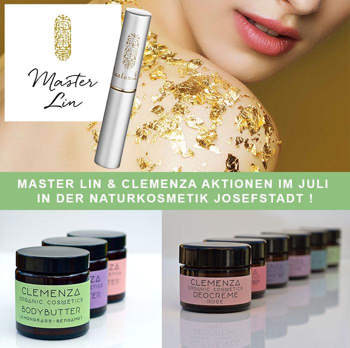 MASTER LIN und CLEMENZA Aktionen im Juli!